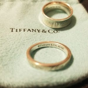 Tiffany and Co. Rings